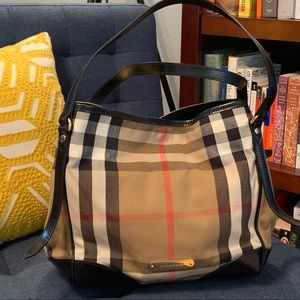Burberry Canterbury Tote in Brindle House Check
